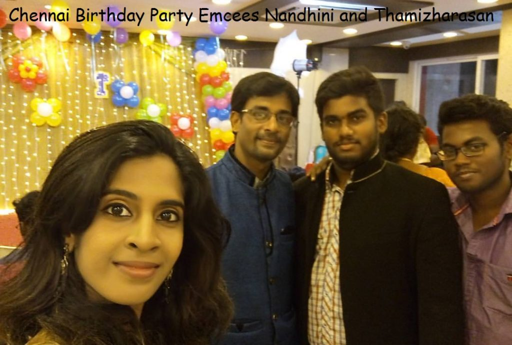 Chennai Event Entertainers Anchors MC Nandhini and Thamizharasan