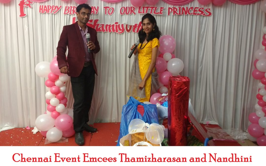 Lets discuss Birthday Party Events with Chennai Event Entertainers