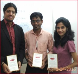 Chennai Event Entertainers Thamizharasan and Nandhini with their Mentor Business Coach Dr Maharaja SivaSubramanian N