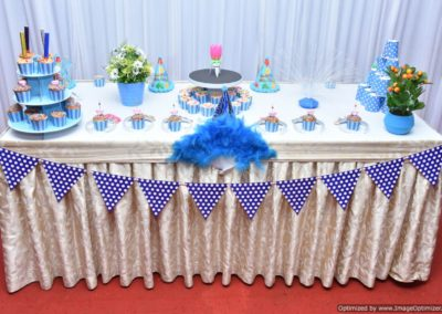 Cake Table Finding Nemo Theme Birthday Party Decoration by Chennai Event Emcees