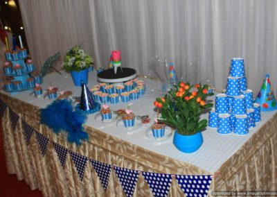 Cake Table with stand Finding Nemo Theme Birthday Party Decoration by Chennai Event Emcees