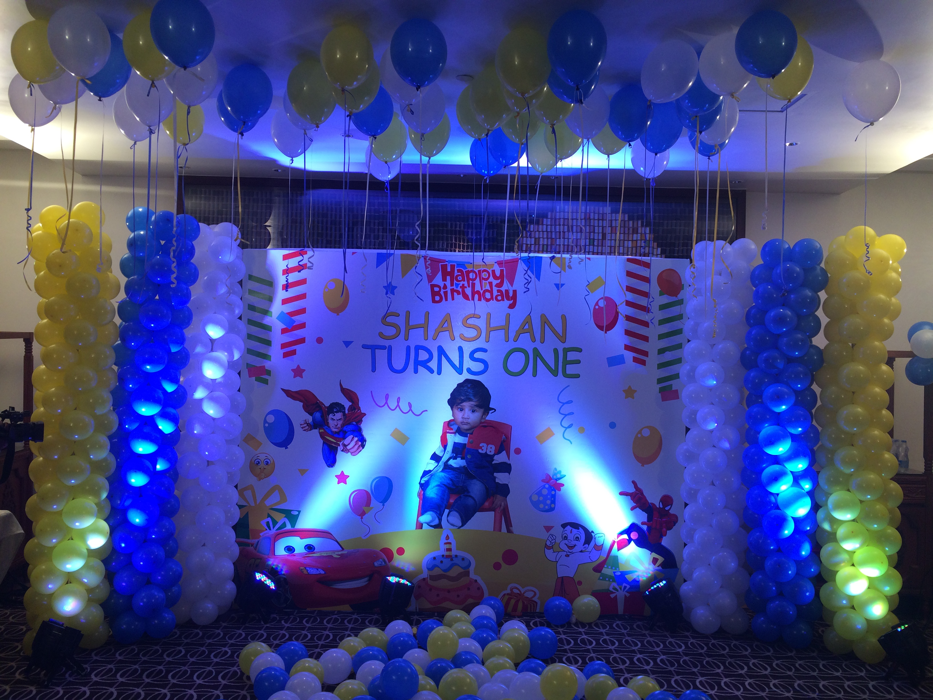 Birthday Party Decorations in Chennai vendors associated with