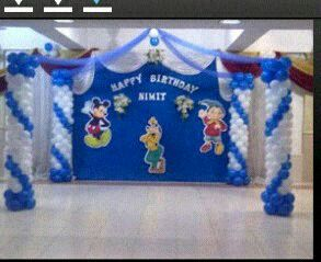 Birthday Party Decorations in Chennai vendors associated with Chennai Event Entertainers