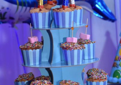 Muffins and Cup Cakes Finding Nemo Theme Birthday Party Decoration by Chennai Event Emcees