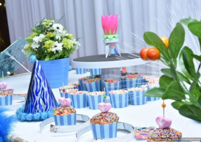 Welcome Table Finding Nemo Theme Birthday Party Decoration by Chennai Event Emcees
